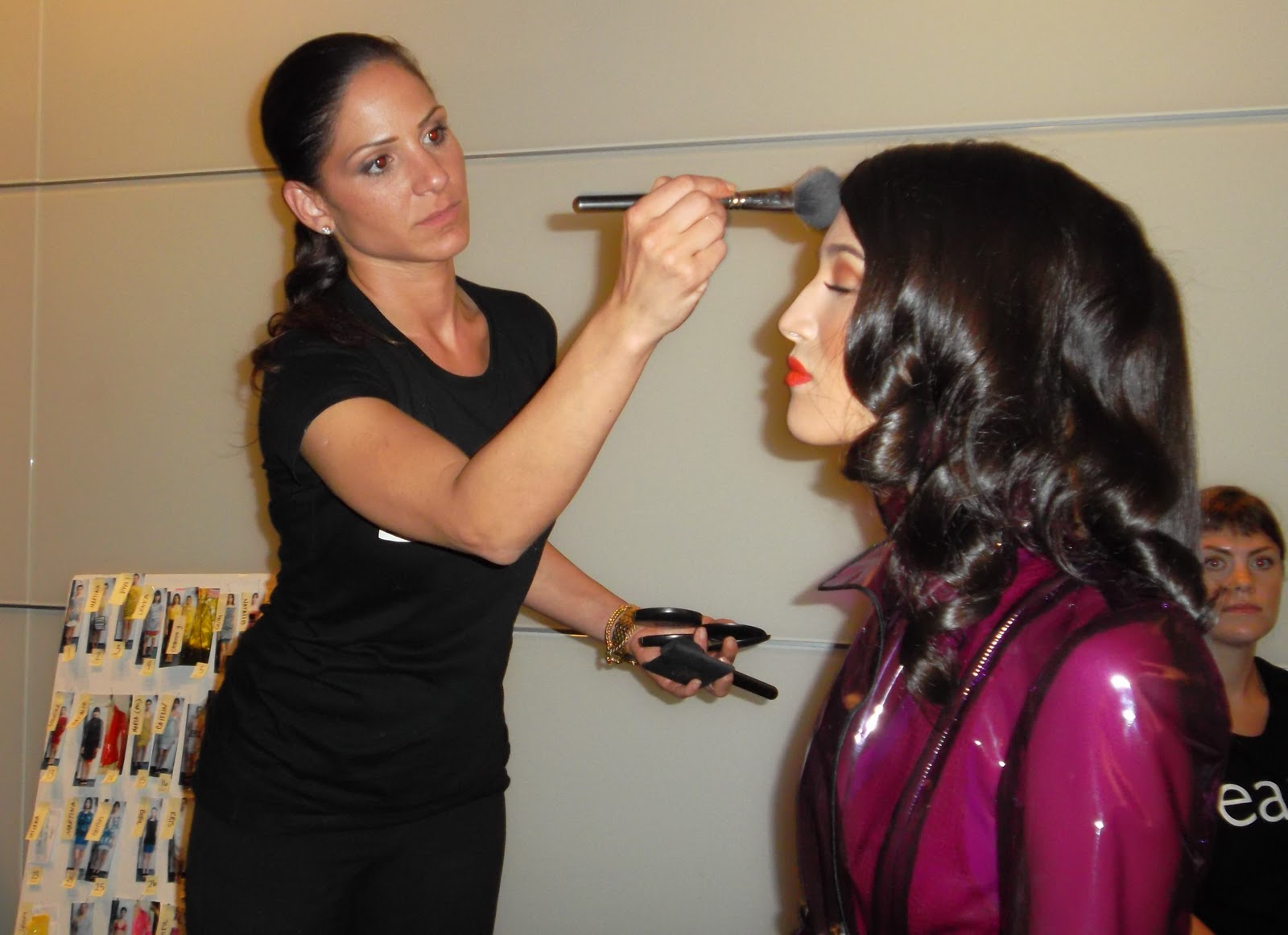 Head Makeup Artist KELLY TABONE