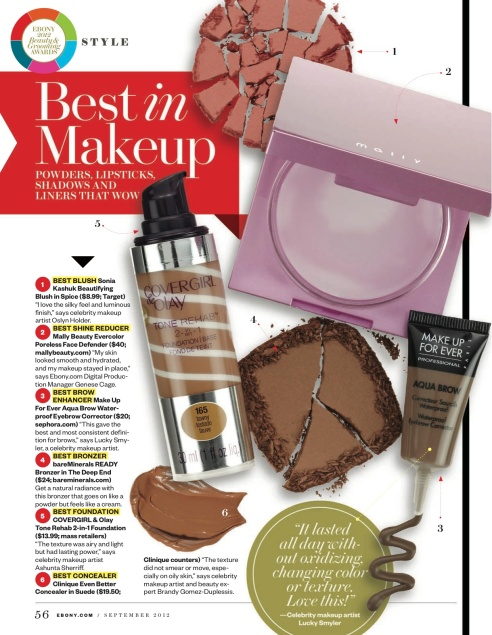 Ebony Magazine Beauty Awards In September Issue – inside the