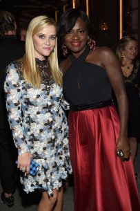 reese whiterspoon and viola davis backstage at glamour magazine woty