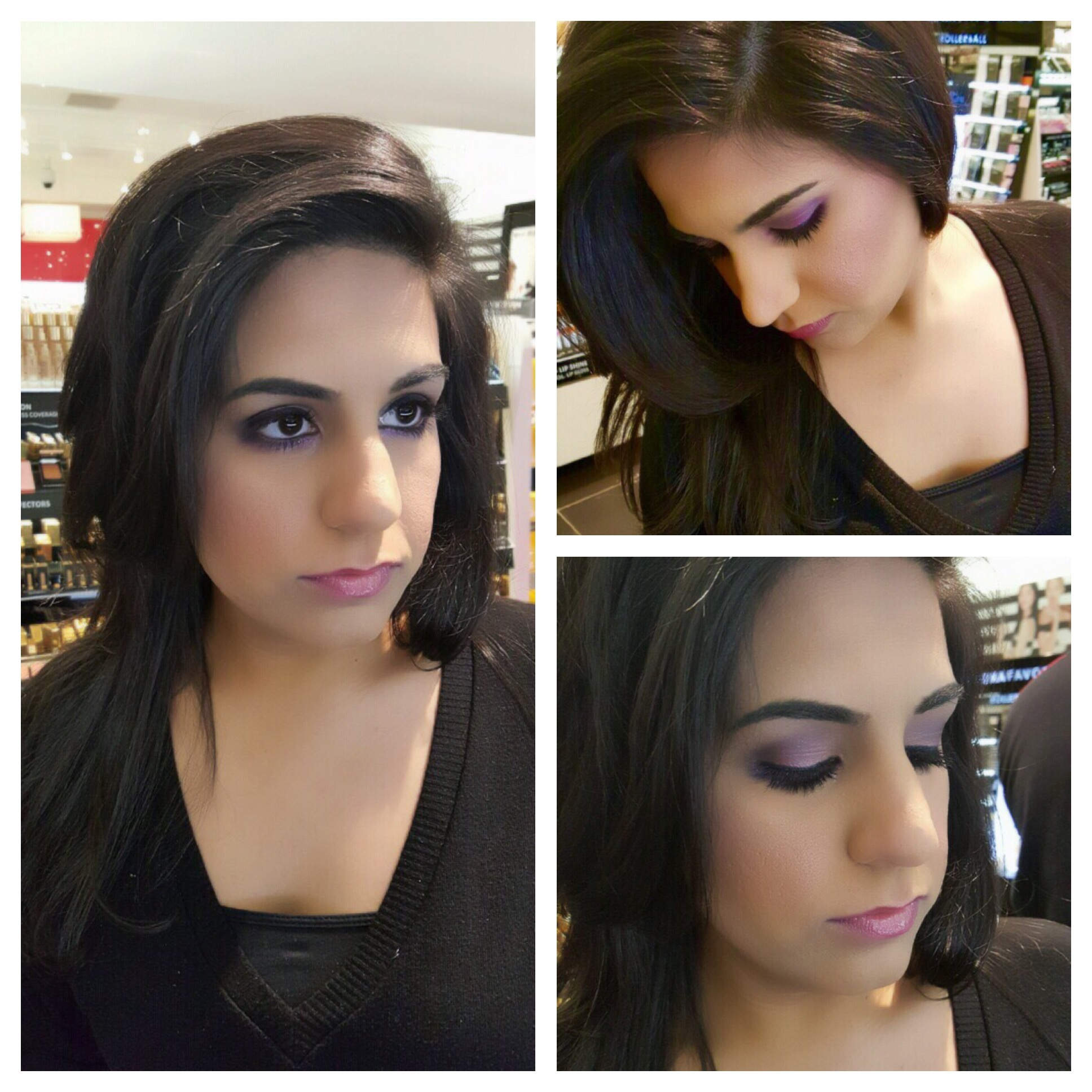 today being her birthday i had to give her a glamxurious makeup look its always nice when clients request me for important days in their life