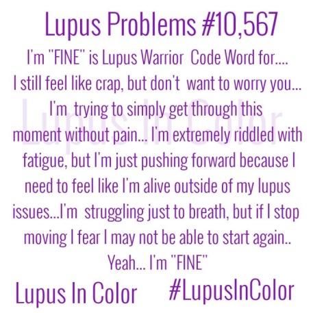 Lupus problem quote