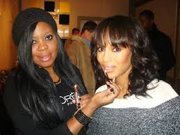 Celebrity Makeup Artist Brandy Gomez-Duplessis and Kerry Washington at Sundance Film Fest