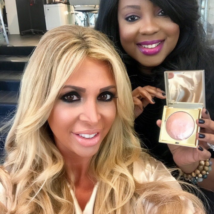 ... her makeup better than the inspirational picture. The highlighter I selected was Stila Heaven's Hue Highlighter in Kitten and on her lips I used Stila ...
