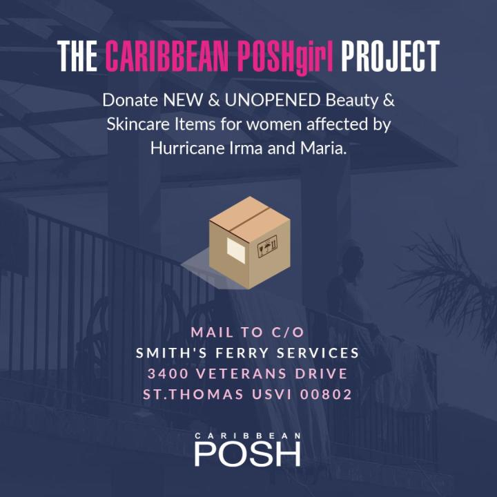 Caribbean Posh Hurricane Relief