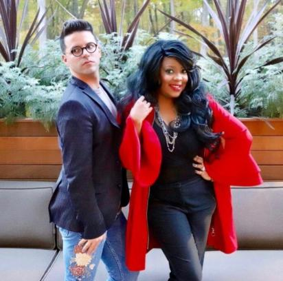 Founders Of Entitled Beauty Johnny Luoma and Brandy Gomez-Duplessis