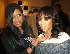 Actress Kerry Washington makeup by Brandy Gomez-Duplessis